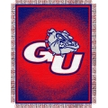 "Gonzaga Bulldogs NCAA College ""Focus"" 48"" x 60"" Triple Woven Jacquard Throw"