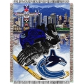 "Vancouver Canucks NHL Style ""Home Ice Advantage"" 48"" x 60"" Tapestry Throw"