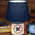 Milwaukee Brewers MLB Accent Table Lamp
