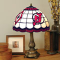 New Jersey Devils NHL Stained Glass Tiffany Table Lamp