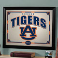 Auburn Tigers NCAA College Framed Glass Mirror
