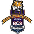 2007 National Championship Logo - LSU Fathead NCAA Wall Graphic