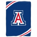 "Arizona Wildcats College ""Force"" 60"" x 80"" Super Plush Throw"