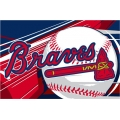 "Atlanta Braves MLB 39"" x 59"" Acrylic Tufted Rug"
