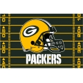 "Green Bay Packers NFL 39"" x 59"" Tufted Rug"