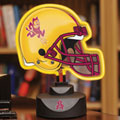 Arizona State Sun Devils NCAA College Neon Helmet Table Lamp