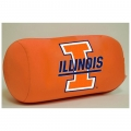 "Illinois Fighting Illini NCAA College 14"" x 8"" Beaded Spandex Bolster Pillow"