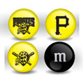Pittsburgh Pirates Custom Printed MLB M&M's With Team Logo
