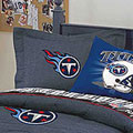 Tennessee Titans NFL Team Denim Pillow Sham