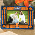 "Illinois Illini NCAA College 6.5"" x 9"" Horizontal Art-Glass Frame"
