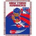 "New York Rangers NHL Baby 36"" x 46"" Triple Woven Jacquard Throw"