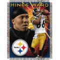 "Hines Ward NFL ""Players"" 48"" x 60"" Tapestry Throw"