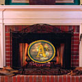 Oakland Athletics MLB Stained Glass Fireplace Screen