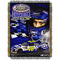 Nascar 2010 Jimmie Johnson 5X Championship Tapestry Throw