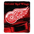 "Detroit Red Wings NHL Micro Raschel Blanket 50"" x 60"""