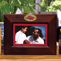 "Arkansas Razorbacks NCAA College 8"" x 10"" Brown Horizontal Picture Frame"