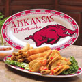"Arkansas Razorbacks NCAA College 12"" Ceramic Oval Platter"