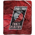 "Portland Trail Blazers NBA ""Reflect"" 50"" x 60"" Super Plush Throw"