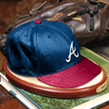 Atlanta Braves MLB Baseball Cap Figurine