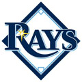Rays Logo Fathead MLB Wall Graphic