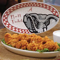 "Alabama Crimson Tide NCAA College 12"" Gameday Ceramic Oval Platter"