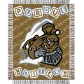 "Purdue Boilermakers NCAA College Baby 36"" x 46"" Triple Woven Jacquard Throw"
