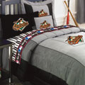 Baltimore Orioles Bedding MLB Authentic Team Jersey Full Comforter / Sheet Set