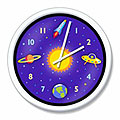 Olive Kids Out Of This World Clock