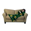 Green Bay Packers NFL Juvenile Fleece Comfy Throw