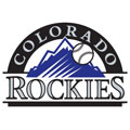 Colorado Rockies Logo Fathead MLB Wall Graphic