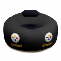 Pittsburgh Steelers NFL Vinyl Inflatable Chair w/ faux suede cushions
