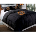 "Oklahoma State Cowboys College Twin Chenille Embroidered Comforter Set with 2 Shams 64"" x 86"""