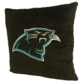 "Carolina Panthers NFL 16"" Embroidered Plush Pillow with Applique"