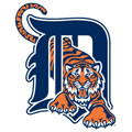 Detroit Tigers Logo Fathead MLB Wall Graphic