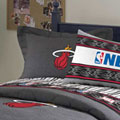 Miami Heat Team Denim Pillow Sham