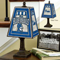 Duke Blue Devils NCAA College Art Glass Table Lamp