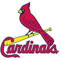 St. Louis Cardinals Logo Fathead MLB Wall Graphic