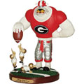Georgia UGA Bulldogs NCAA College Keep Away Mascot Figurine
