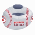 Boston Red Sox MLB Vinyl Inflatable Chair w/ faux suede cushions