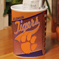 Clemson Tigers NCAA College Office Waste Basket