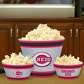Cincinnati Reds MLB Melamine 3 Bowl Serving Set