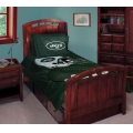 "New York Jets NFL Twin Comforter Set 63"" x 86"""