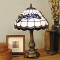Milwaukee Brewers MLB Stained Glass Tiffany Table Lamp