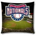 "Washington Nationals MLB ""Stadium"" 18""x18"" Dye Sublimation Pillow"