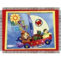 "Wonder Pets Save The Day 48"" x 60"" Metallic Tapestry Throw"