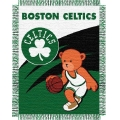 "Boston Celtics   NBA Baby 36"" x 46"" Triple Woven Jacquard Throw"