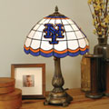 New York Mets MLB Stained Glass Tiffany Table Lamp