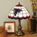 Atlanta Falcons NFL Stained Glass Tiffany Table Lamp