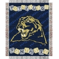 "Pittsburgh Panthers NCAA College Baby 36"" x 46"" Triple Woven Jacquard Throw"
