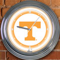 "Tennessee Vols NCAA College 15"" Neon Wall Clock"